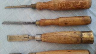 Formones. 6 Herramientas de carpintero.