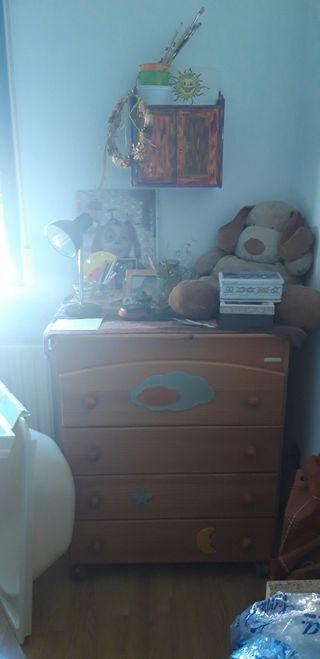Mueble y bañera bebé