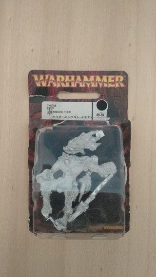 Yeti 95-39G Warhammer