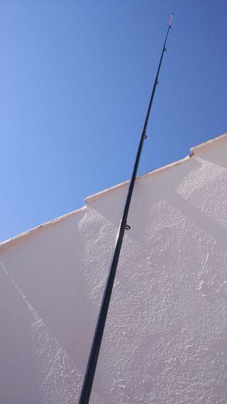 Caña telescópica de surfcasting 4,5m
