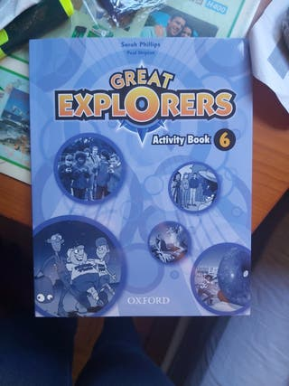 Great explorers Activity book 6
