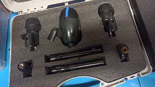kit micrófonos bateria