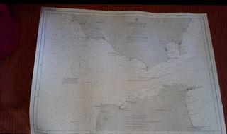 Carta naútica. Estrecho de Gibraltar