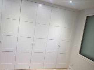 Puertas lacadas armario