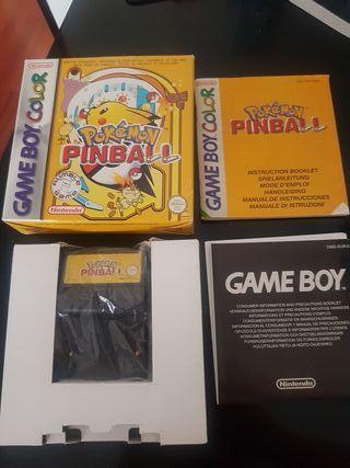 Pokemon Pinball para Game Boy