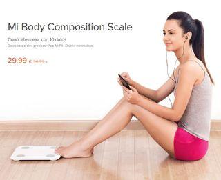 Báscula Xiaomi Mi Body Composition Scale