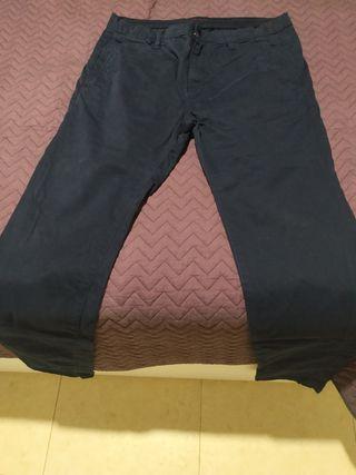 Pantalón Zara Hombre talla 40 color azul marino