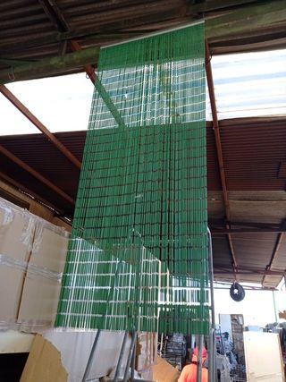 cortina de plástico
