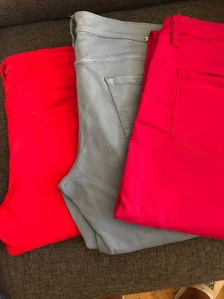Pantalón 5 bolsillos en tres colores