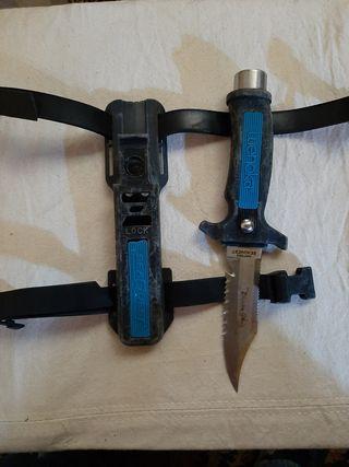 cuchillo de buceo wenoka