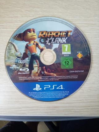 juego ps4 Ratchet and clank