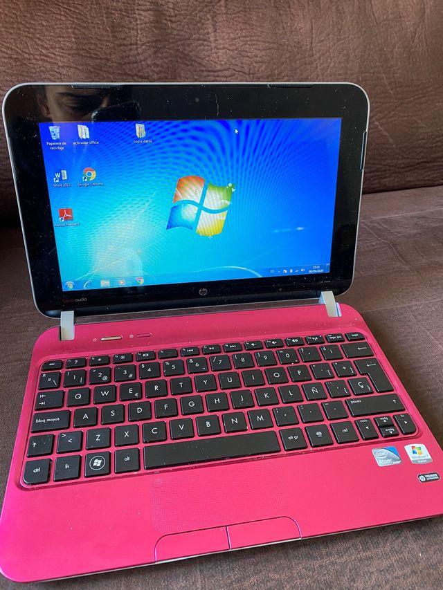 Mini portatil Hp Rosa