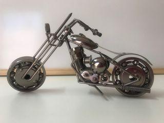 Moto chopper decorativa