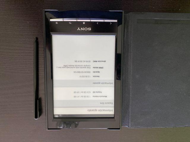 Libro electrónico Sony
