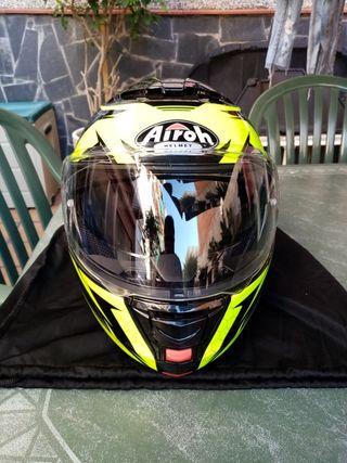 casco moto Airoh talla L Bluetooth