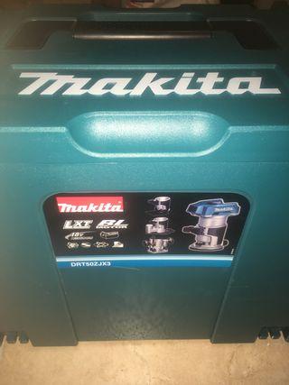 Makita fresadora 18v