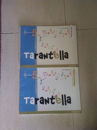tarantela libro musica 5° de primaria pearson