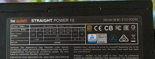 Be Quite Straight power 10 600 watt