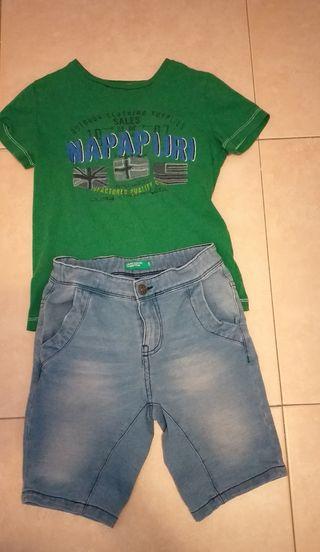 Camiseta Napapijri+Vermuda Benetton