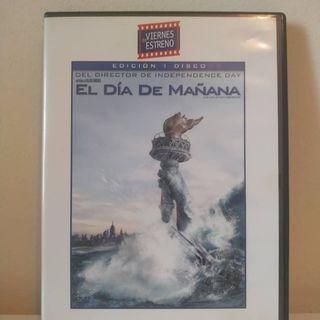 Película DVD El Día de Mañana