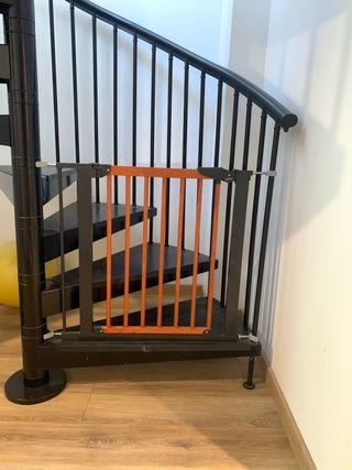 Puerta de seguridad BabyDan ancha