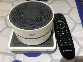 Descodificador UHD TV y Amplificador WIFI
