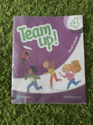 Inglés Team up! Pupil,s book