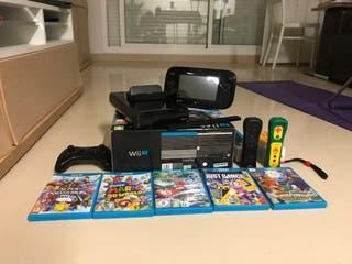 Wii u con accesorios
