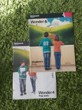 Wonder 4 Richmond primary Student,s book