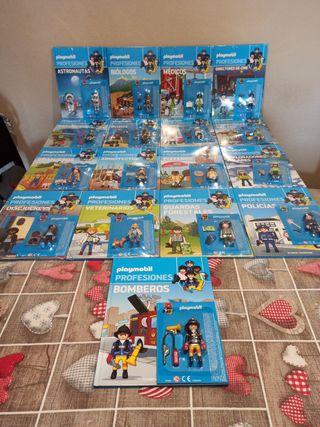 Colección Playmobil profesiones.