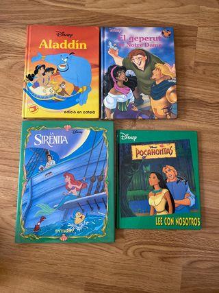 Lote cuentos Disney català y Castellano