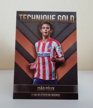 JOAO FÉLIX AT. MADRID TECHNIQUE GOLD CARDS