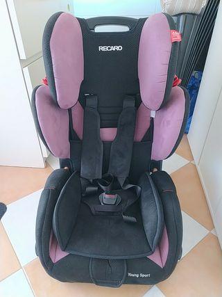 silla bebe recaro grupo 1 2 3