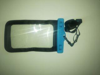 Funda acuática impermeable para móvil 5'7 pulgadas