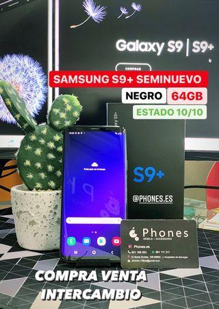 Samsung S9 Plus 64Gb Negro Seminuevo (Tienda)