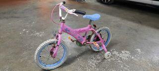 Bicicleta de niña Barbie