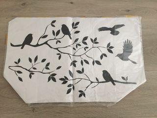 Vinilo pared pájaros