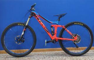 bicicleta cube stereo 160