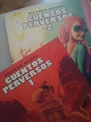 comic Cuentos perversos 1 y 2