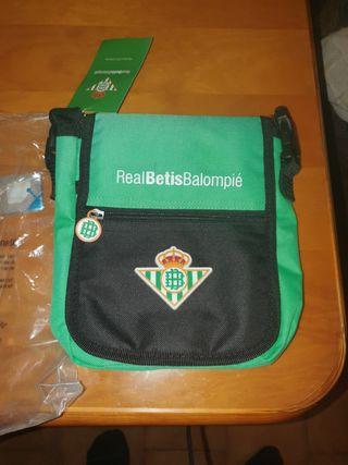 Bolso bandolera del Real Betis Balompie