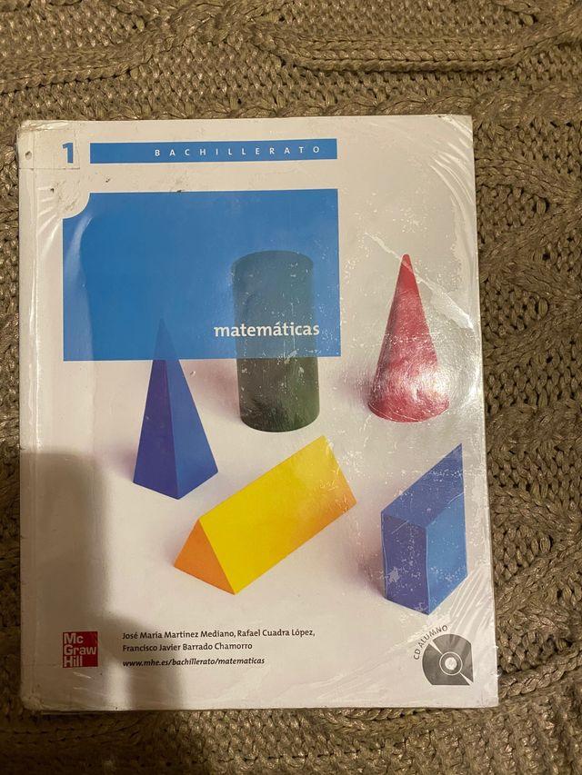 Libro matemáticas 1 bachillerato