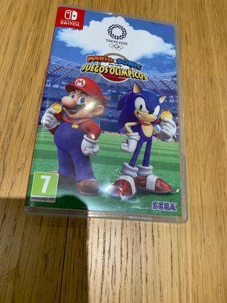 Mario&sonic nintendo switch