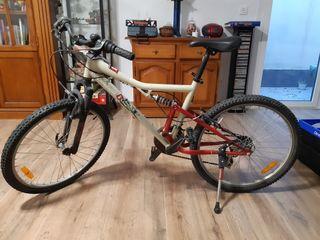 bicicleta 24 pulgadas doble suspension