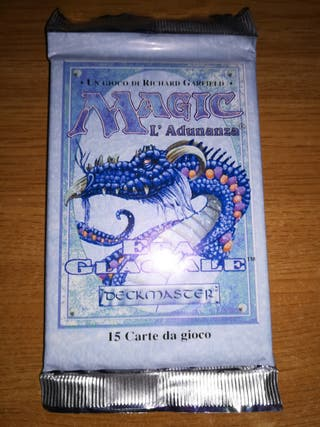 MTG Italian Ice Age booster pack sealed