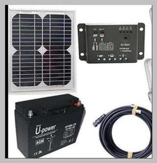 Kit solar 20w