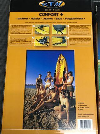 Respaldos kayak