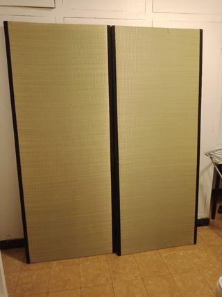 cama doble tatami estilo japonés