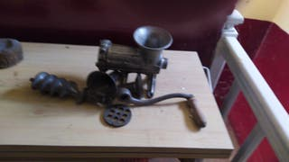 Máquina de hacer chorizos antigua