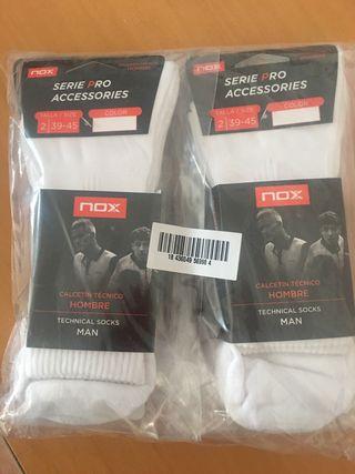 Pack 6 pares de calcetines NOX Padel/tenis