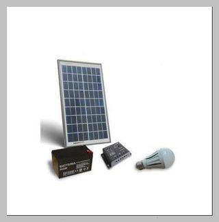 Luz 10 w energia solar espaÑa